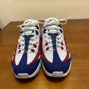 Air max 95 red whit blue